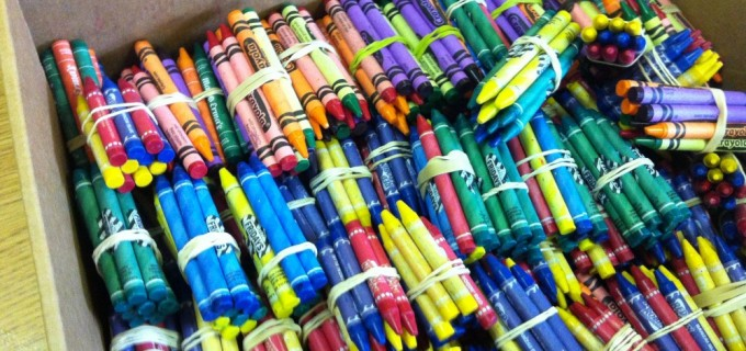 Bundled Crayons